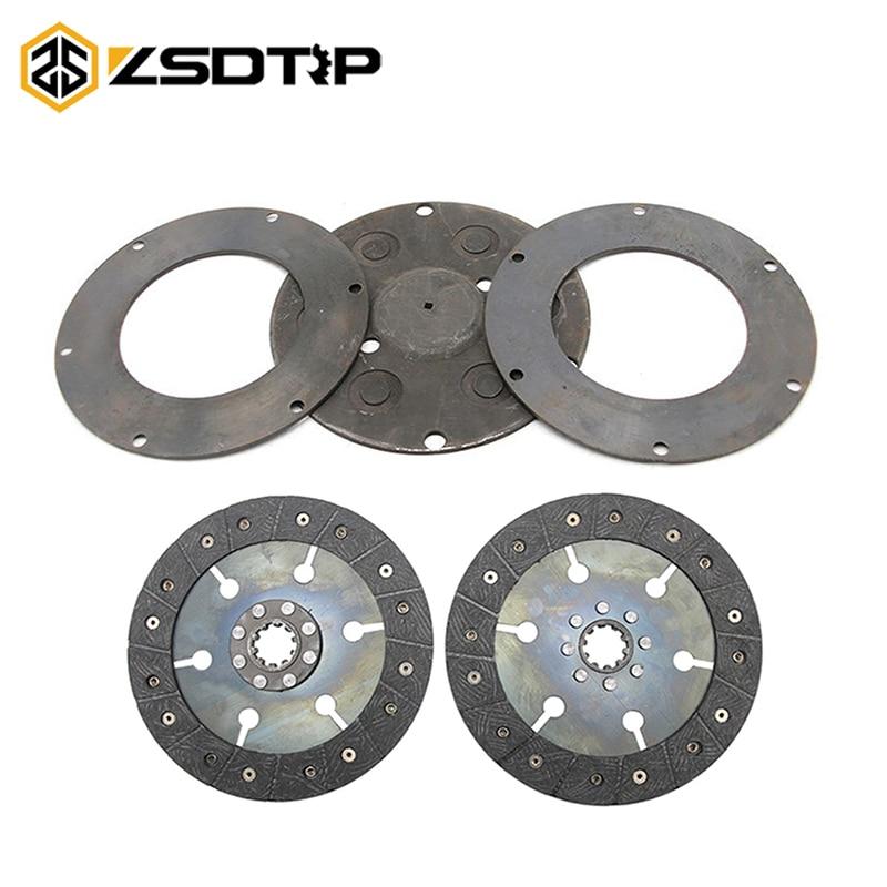 ZSDTRP Ural Motorcycle Clutch Plate Disc Friction For Sidecar CJ750 Motorcycle CJ-K750 Clutch Plate Set