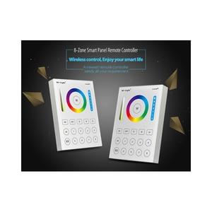 Image 5 - لوحة اللمس المثبتة على الحائط B8 ؛ FUT089 8 منطقة RF باهتة عن بعد ؛ LS2 5IN 1 وحدة تحكم led الذكية ل RGB + CCT led قطاع mibox