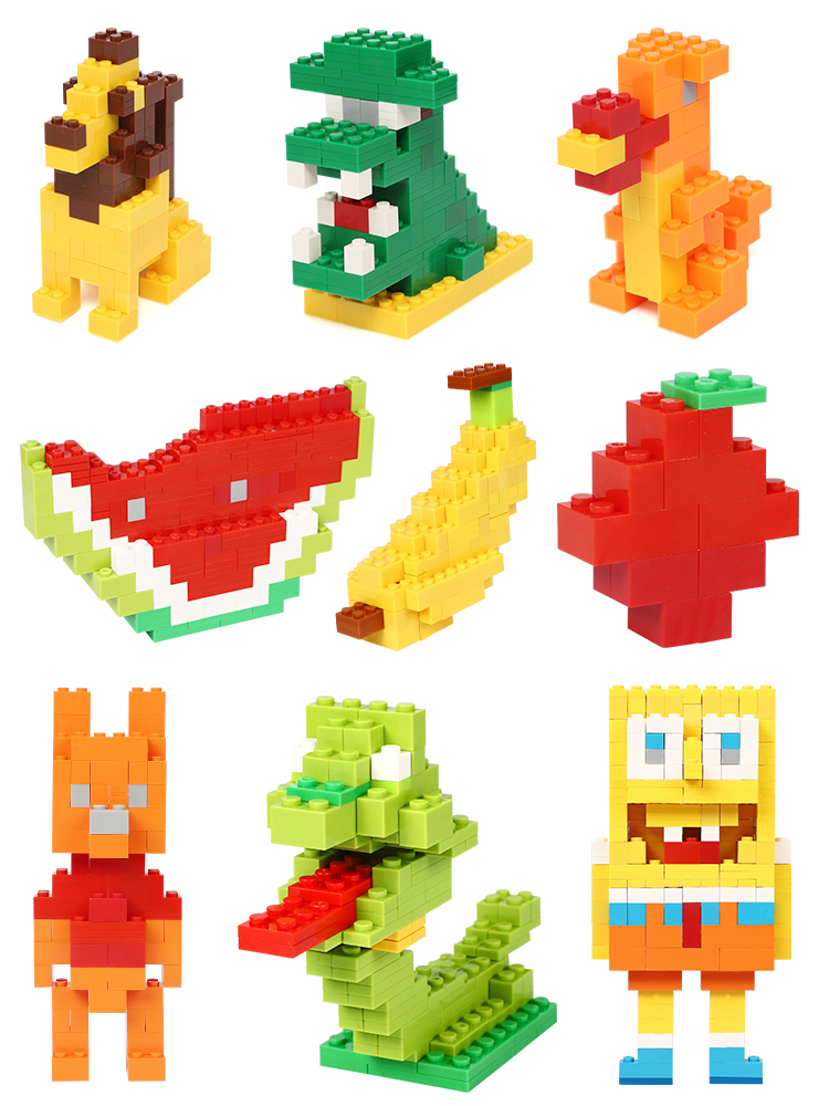 Bricks Model Building-Blocks Kids Toys Constructor Educational Creative 200-1000pcs DIY
