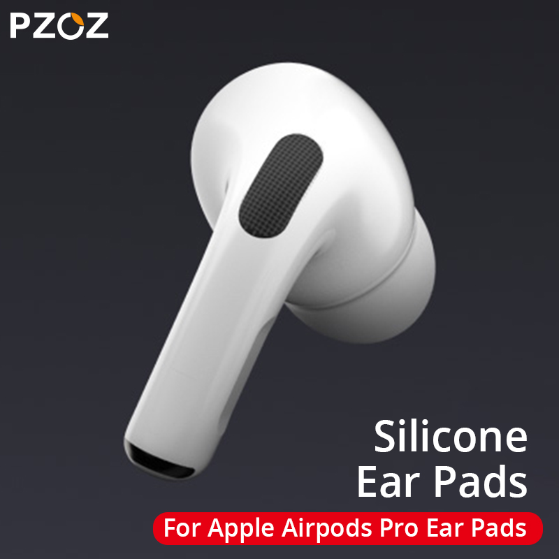 PZOZ for airpods pro <font><b>ear</b></font> <font><b>tips</b></font> Soft Silicone Earbuds Earphone Noise Reduction Soundproof Earplug for <font><b>Apple</b></font> AirPods 3 <font><b>Ear</b></font> <font><b>Tips</b></font> image