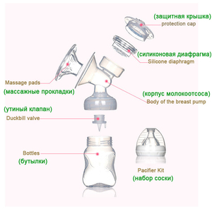 Image 3 - Household Wide Caliber USB Baby Electric Breast Pump, Safe, Sanitary, Efficient and Comfortable