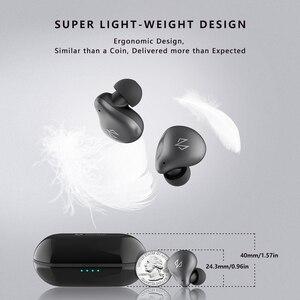 Image 3 - DOSS Cloud Fox Freepods auriculares TWS, inalámbricos por Bluetooth 5,0, auriculares inalámbricos con emparejamiento de un paso, micrófono incorporado con tiempo de reproducción de 15H