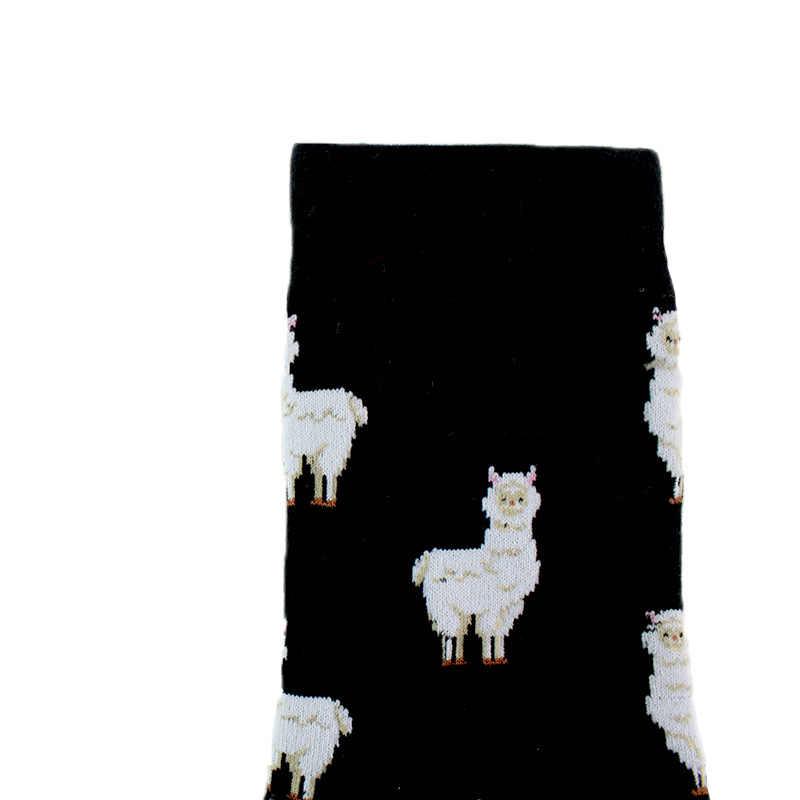 1 paire printemps automne nouveau produit décontracté Style coréen femmes Animal dessin animé renard éléphant lapin mouton coton marée chaussettes courtes