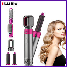 Curling Hair-Dryer Airwrap Straightening Comb Electric-Air-Iron Multi-Functional 5in1