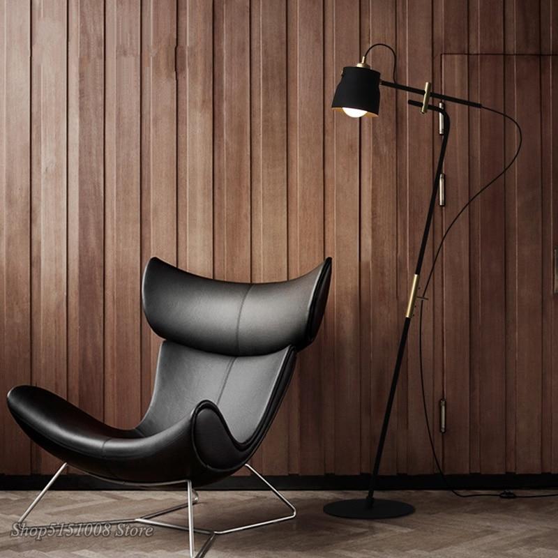 Stand Leuchte Design Wohnzimmer Boden Lampe Chrom Zimmer Lese Licht Stehlampen