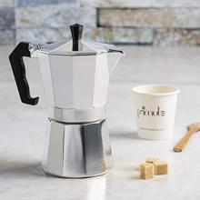 Aluminum Coffee Maker Durable Moka Cafeteira Expresso Percolator Practical Moka Coffee Pot Coffeeware 50/100/150/300/450/600ml