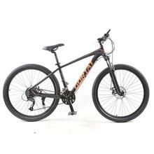 Gorwat bicicleta de montanha 27 velocidades, bicicleta de 27.5 polegadas, para homens e mulheres, bicicleta gorda, disco duplo bicicleta vtt