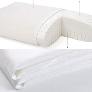 Image 5 - 100% Youpin oreiller 8H Z1 Latex naturel avec taie doreiller meilleur matériau sans danger pour lenvironnement oreiller Z1 santé bon sommeil