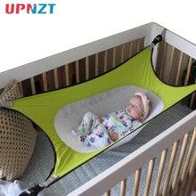 Гамак для новорожденных, безопасная Съемная детская кроватка, эластичный гамак с регулируемой сеткой, складная кроватка 130