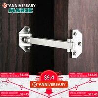 Dg002 porta de segurança guarda liga zinco balanço barra bloqueio acabamento escovado porta parafusos corrente segurança da porta casa hotel|Fecho corrente portas| |  -