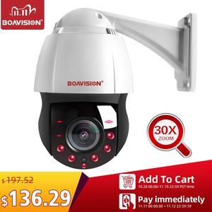 Image 1 - Yeni 4.5 inç HD 1080P 4MP 5MP PTZ IP kamera açık ağ Onvif Speed Dome 30X Zoom objektifi PTZ kamera CCTV 150m IR gece görüş
