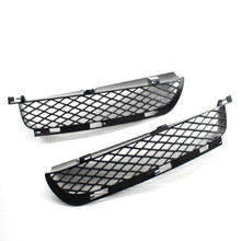 Auto Car Accessories Front Bumper Lower Grilles Set For BMW X5 E53 2004-2006 Left and Right Fog Light