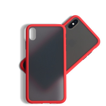 Signalshin Simple Matte Bumper Phone Case For iPhone 11 Pro Max XR XS Max 6S 7 8 Plus Shockproof Soft TPU Silicone Clear Cover image