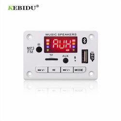 5 v 12v mp3 decodificador módulo de placa de decodificação bluetooth 5.0 carro usb mp3 player wma wav tf slot para cartão/usb/fm módulo de placa remota