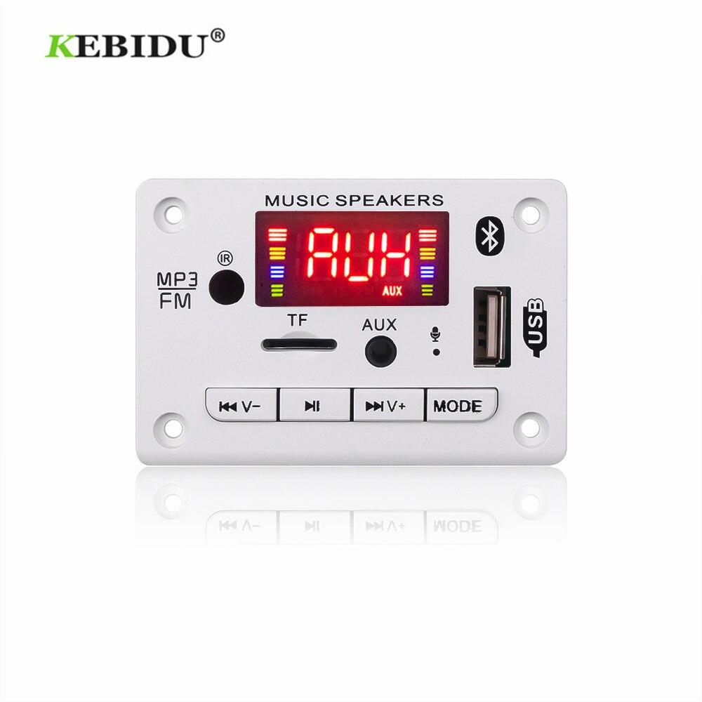 Mp3 декодер, 5 В, 12 В, модуль декодирования, Bluetooth 5,0, Автомобильный USB MP3 плеер WMA WAV, слот для TF карты/USB/FM модуль дистанционной платы|MP3-плееры|   | АлиЭкспресс