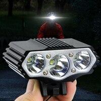 12000LM Glare USB Lade T6 LED 4 Ebene Fahrrad Licht Ipx-7 Wasserdicht Geeignet für Radfahren  Camping Fahrrad Licht Im Freien