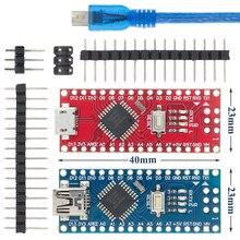 10PCS MINI USB/MICRO USB Nano 3.0 ATMEGA328P/ATMEGA168PสำหรับArduino Controller NANO CH340 USB Driver