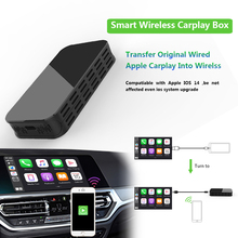 5G Carplay wireless box with Mirror projection auto connect  For Any Iphone IOS Version media box for Audi VW Ford Hyundai Skoda
