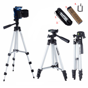 Image 1 - Extensible 35 102cm universel réglable trépied support de montage pince caméra support pour téléphone support pour téléphone portable caméra Gopro