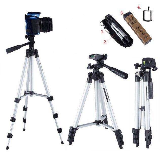 Extensible 35 102cm universel réglable trépied support de montage pince caméra support pour téléphone support pour téléphone portable caméra Gopro