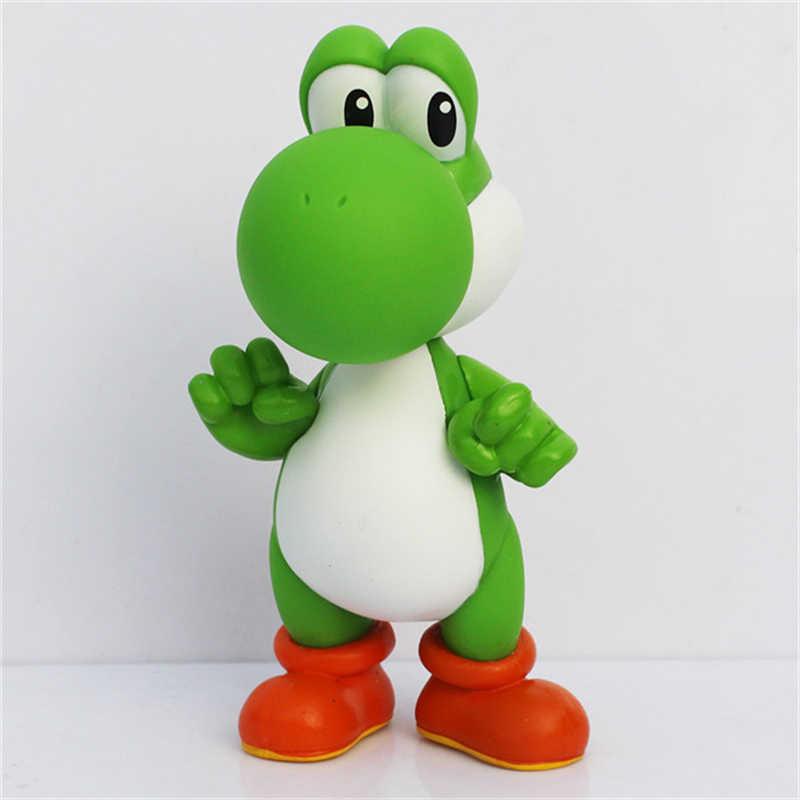 12cm Super Mario Bros Yoshi PVC Action Figures Toys for Kids