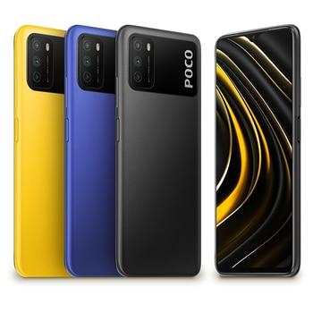 Global Version POCO M3 Smartphone 4GB 64GB /128GB Snapdragon 662 Octa Core 6000mAh Battery 48MP Camera Cellphone Electronics Mobile Phones