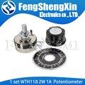 1 комплект WTH118 DIY Kit Parts 2W 1A потенциометр 1K 2,2 K 4,7 K 10K 22K 47K 100K 470K 1M MF-A03