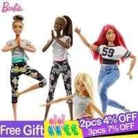 Original barbie 18 Polegada fshion americano bonecas com acessórios para brinquedos da menina do bebê para crianças presente de aniversário bonecas juguetes