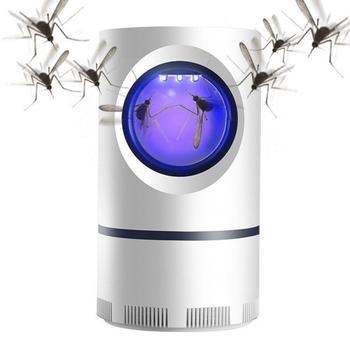Urządzenie do zabijania komarów i insektów domowa kontrola odstraszanie szkodników łapacz lampa przeciwko komarom USB lampa pułapka na komary komary mucha UV środek odstraszający komary tanie i dobre opinie oobest CN (pochodzenie) Brak 11 x 11 x 17 5cm UV environmental protection Electric zipper Mosquito killer