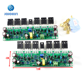L15 Mono / Dual Channel IRFP240 IRFP9240 FET Amplifier Audio Finished Board MOSFET Sound Amplifiers Assembled Board assembled 1200w powerful amplifier board mono hifi audio amp board with heatsink