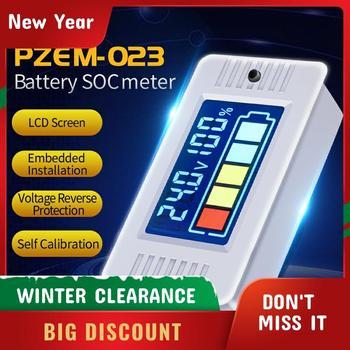 Voltímetro Digital con Panel LCD a Color de 0-100v, medidor de batería eléctrica, medidor de batería de plomo y ácido de litio, PZEM-023