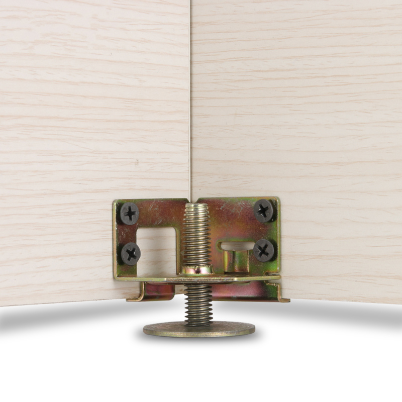 Adjustable Height Cabinet Hinge Furniture Legs Wooden Board Connection Support Metal Table Base Legs Hardware Furniture