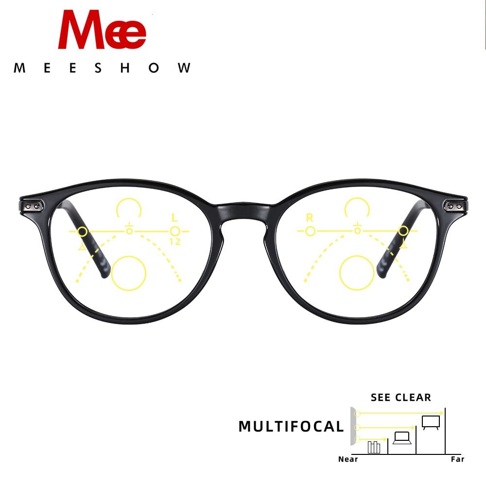 Meeshow Multifocal Reading Glasses Elegant Retro Europe Style Women Glasses Eyeglasses Lesebrillen +1.0 +1.5 +2.0 +2.5 +3.0 1932