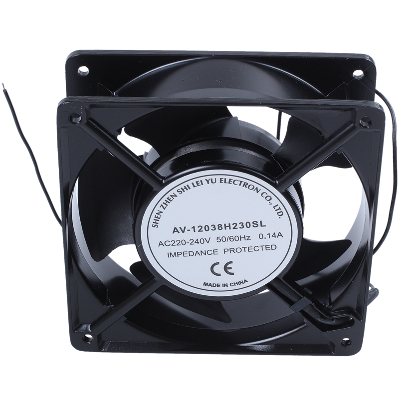 AC 220V-240V0.14A Brushless Cooler Cooling Fan 120mm X 120mm X38mm