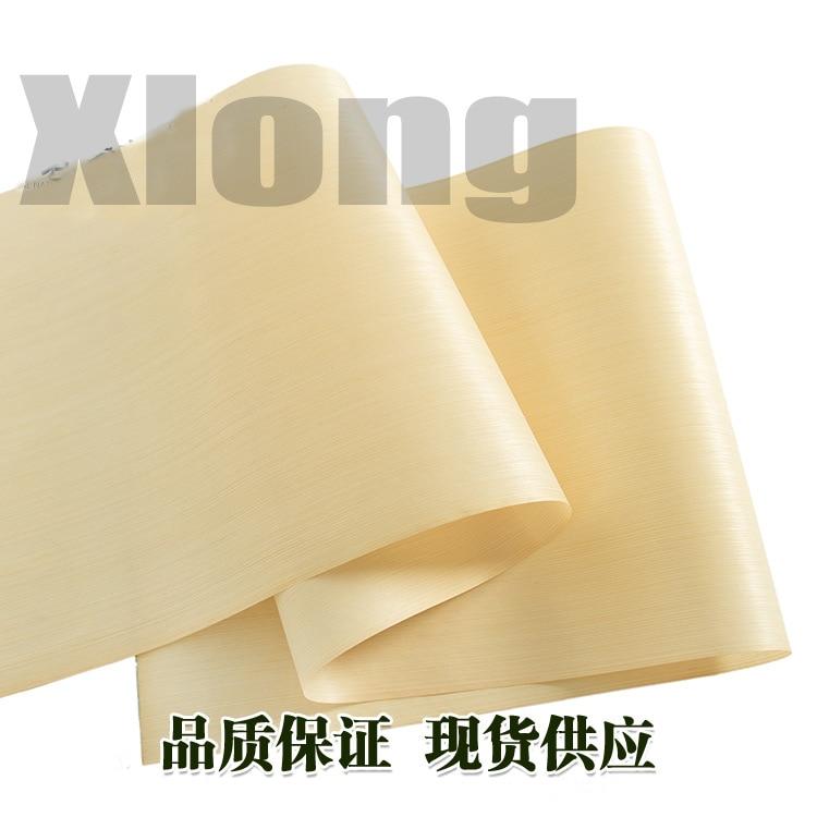 L:2.5Meters Width:600mm Thickness:0.2mm Technology White Cork Straight Grain Veneer Light White Cork Wood Veneer