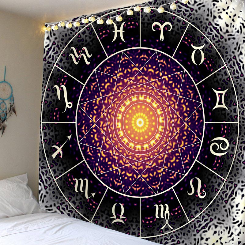 Tapestry Mandala BohoTapzi Witchcraft Tapestries Wall Hanging For Home Decoration Living Room Bedroom Wall Art Large