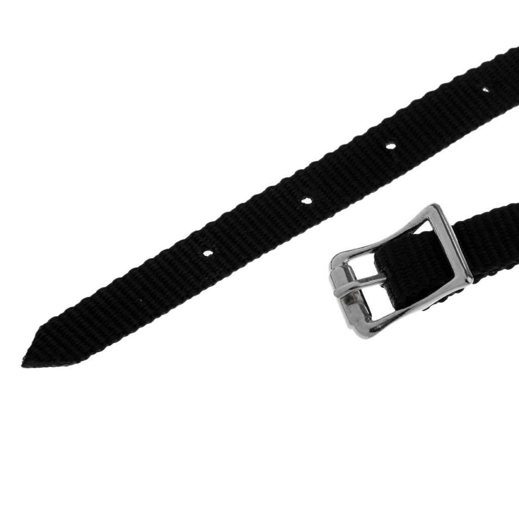 2 peça equestre cavalo equitação inglês spur cintas com fivelas de prata-45 cm de comprimento