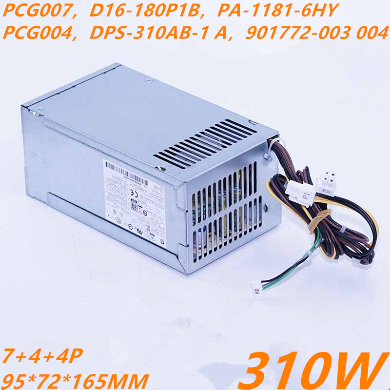 New PSU For HP 400G4 282 600 680 800 880 G3 SFF Power Supply PCG007 PA-1181-6HY PCG004 DPS-310AB-1 A DPS-310AB-3 A 901772-003