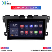 цена на 9 inch Android 8.1 Car Radio multimedia Player for MAZDA CX-7  2008 2009 2010 2011 2012 2013 2014 2015 GPS Navigation  no 2 din