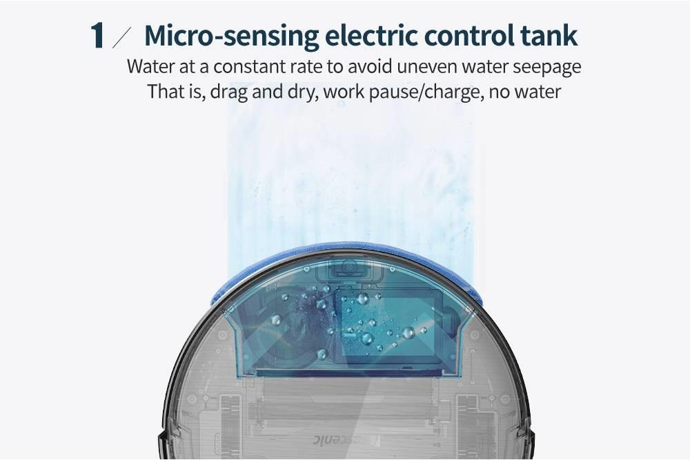 Hacdee90f37f94697b5f1ea0af21b2fbd5 Proscenic 800T Robot Vacuum Cleaner Automatic Sweeping Dust Mopping Mobile App Remote Control Planned Robotic