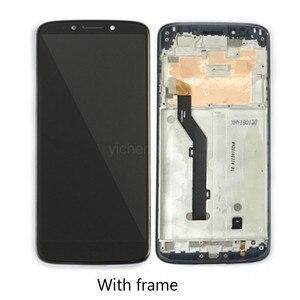 Original For Motorola G6 Play LCD Display with Touchscreen Digitizer Kit + Repair Tool for Moto G6Play XT1922 5.7-inch LCDScreen