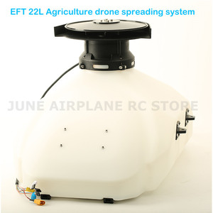 Image 3 - EFT bricolage pour drones agricoles 22l, système dépandage de graines, engrais appât, particules pour E410 E610 E616