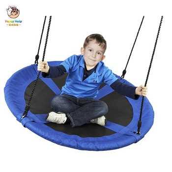 100cm Children Swing Indoor Outdoor Baby Safety Hanging Chair Large Capacity Swing Seat Park Yard Play Equipment Kids Swing Toys children s toys swings for children indoor and outdoor household three in one baby swing outdoor hanging chair baby swing nest