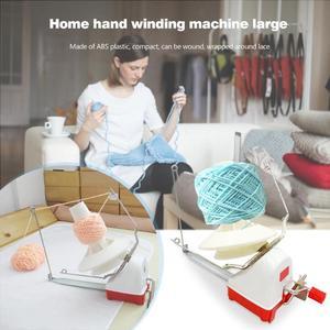 Image 5 - ביתי סוויפט חוט סיבים מחרוזת כדור צמר יד מופעל המותח מחזיק מכונת הגדלה של השחלה חורים לשפר
