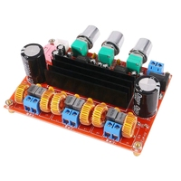 New Amplifier Board Tpa3116D2 50Wx2+100W 2.1 Channel Digital Subwoofer Power 12~24V|Operational Amplifier Chips| |  -