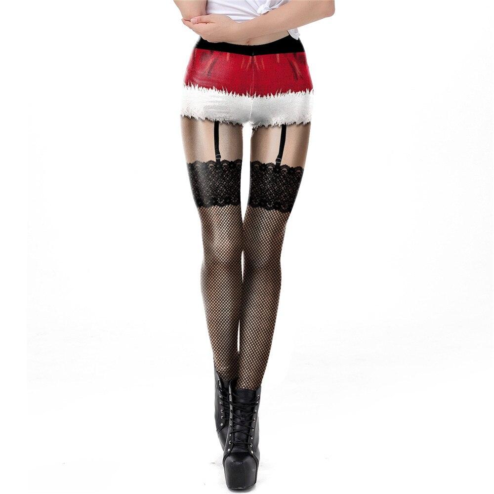 NADANBAO The Nightmare Before Christmas Leggings Halloween Classic Pants Women Workout Leggins Fashion Sexy Elastic Legins 17