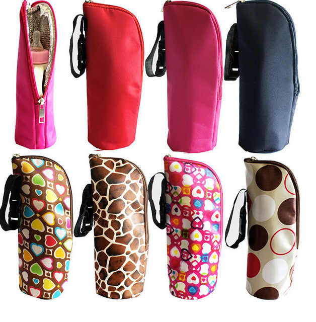Hot Baby Nursing Bottle Bag Milk Water Warmer Insulated Bag Heat Freshness Preserved Feeding Bottle Tote Bag for Travel Stroller