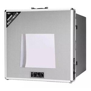 Image 1 - NG T3220 110 فولت/240 فولت للطي مصباح LED للاستديو هات علبة الصور الفيديو الإضاءة خيمة صندوق المهنية المحمولة LED سوفت بوكس التصوير مجموعة صناديق