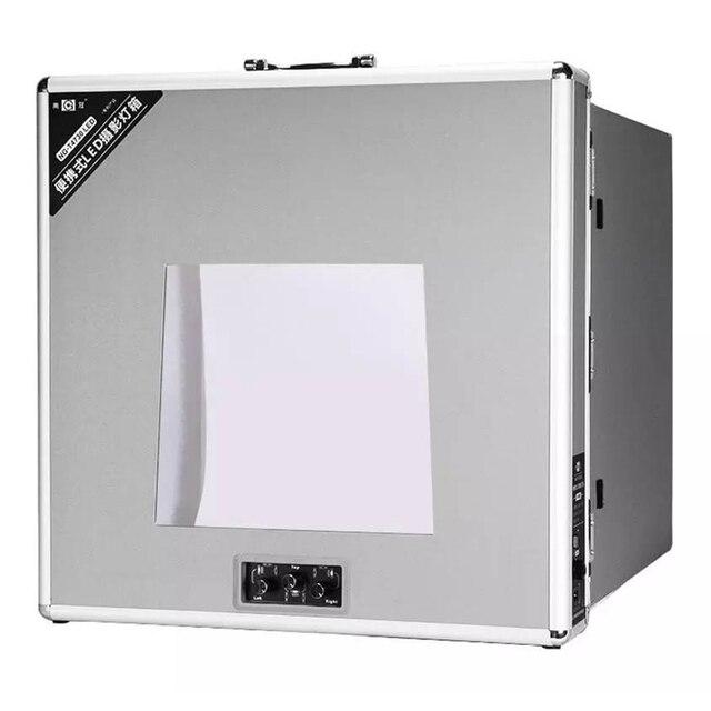 NG T3220 110 فولت/240 فولت للطي مصباح LED للاستديو هات علبة الصور الفيديو الإضاءة خيمة صندوق المهنية المحمولة LED سوفت بوكس التصوير مجموعة صناديق