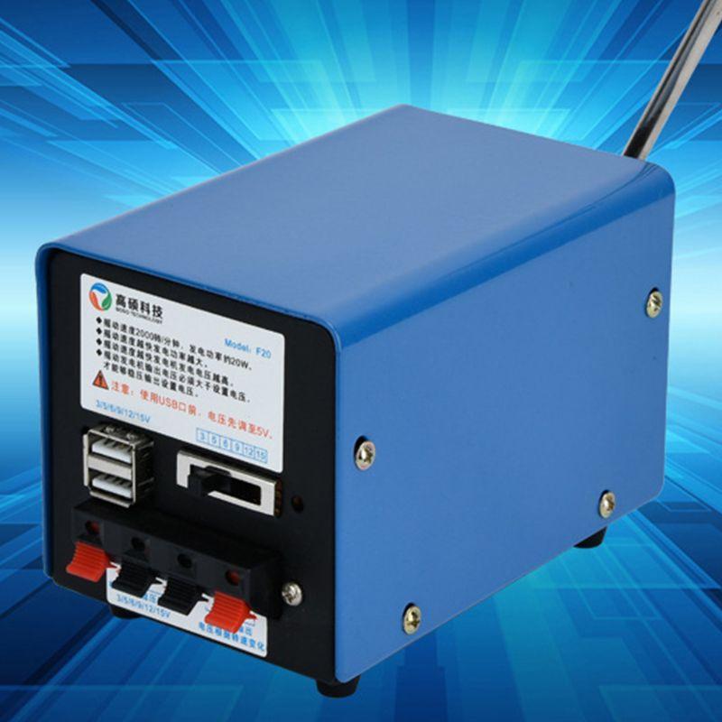 Dynamo manuelle multifonctionnelle extérieure A5YD d'inverseur de générateur de secours portatif